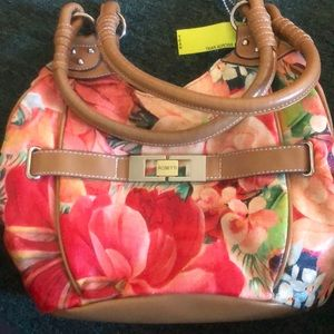 NWOT ROETTI Floral Purse ⭐️ OFFERS WELCOME ⭐️